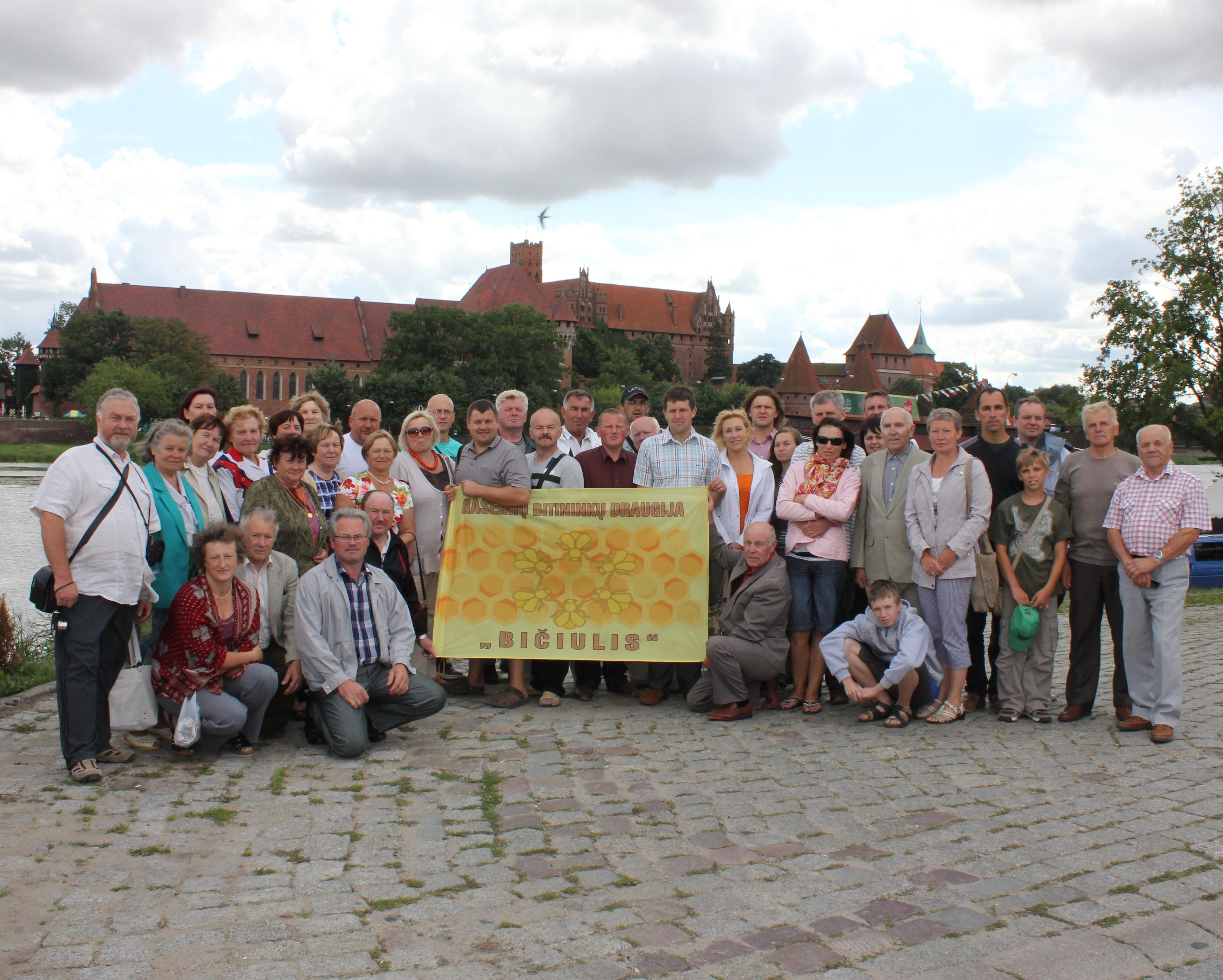 BITININKAS » Raseiniškių bitininkų vizitas Lenkijoje